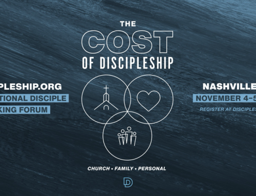 Announcement: 2021 National Disciple Making Forum: The Cost of Discipleship (Nov. 4–5)